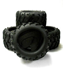 DJ-002 1/8 Scale RC Off Road Monster Truck Rubber Tyres Tire x 4 Tractor Tread
