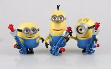 Despicable Me: Minions the movie 3pcs 17cm Tall Doll Set with Sound & Light!