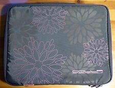 """Pochette pour Ordinateur Portable Golla Grise Motif Fleurs 15"""" 44 cm Polyester"""