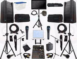 Bose F1 F-1 Speaker Proaudio system karaoke system live sound band system dj sys