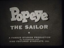 16mm Popeye the Sailor Shape Ahoy 1945 Famous Studios