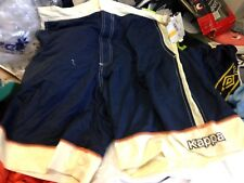 KAPPA SWIM SHORTS IN IN34/36 INCH AT £9 SWIM SHORTS fitted NAVY /CREAM IN X/L ME