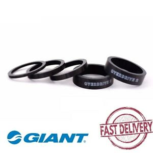 """Giant1 1-1/4"""" Carbon OD2 Overdrive 2 Bicycle Bike Headset Spacer Kit- 5 pcs"""