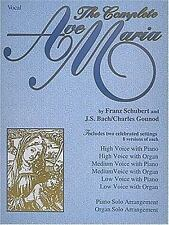 Ave Maria both Schubert AND Bach versions in 3 keys - Wedding Favorite !!