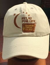 "M1-  Collectible, Relay For Life"" American Cancer Soc. Baseball Cap"