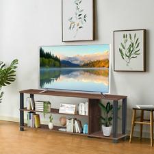Retro TV Stand Entertainment Media Center Console Shelf Cabinet