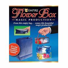 Flower Box Production Easy Magic Trick New, Free Shipping
