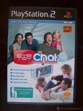 PS2 EYETOY CHAT LIGHT - EN INGLES - PLAYSTATION 2 (4W)