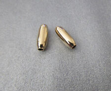 14K Gold- Filled Smooth Tube 14x5mm 2pcs