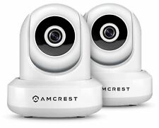 Amcrest 2-Pack 1080P HD WiFi Security IP Camera Wireless Surveillance System 2MP