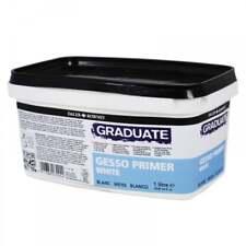 Daler-Rowney Graduate Gesso Primer 1 Litre Gloss Painting Art Supplies White