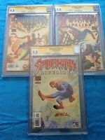 Spider-Man: Lifeline #1-3 set - Marvel - CGC SS 9.8 NM/MT - Signed by Steve Rude