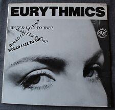 Eurythmics, would i lie to you ?, Maxi vinyl