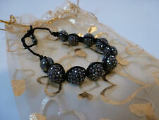 Shamballa style Bracelet (Multi, Grey, Blue)