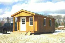 Cottage, All WOOD Construction 12 x 24 Insulated