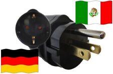 Urlaubsadapter Mexiko für Geräte aus Deutschland Reise Adapter Travel 3polig NEU