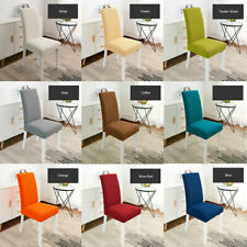 Dining Room Chair Cover Slipcovers Spandex Wedding Party Decor Washable