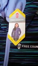 NEW Free Country Girls' Hooded Softshell Jacket Size 5/6 $70 Retail