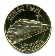 68 MULHOUSE Cité du Train, TGV PSE 1981, 2021, Monnaie de Paris