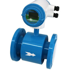 DN40 Anti-interference Non-magnetic Stainless Steel Electromagnetic Flowmeter