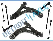 8pc Front Lower Control Arm Tierods 2005-2009 Relay Uplander Montana Terraza FWD