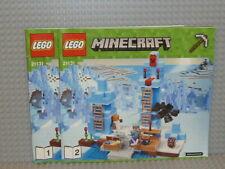 LEGO® Minecraft Bauanleitung 21131 The Ice Spikes ungelocht instruction B2982