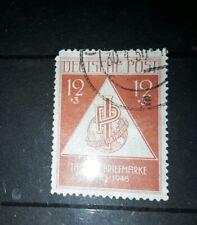 Soviet SBZ zone 1948 stamp day fine used