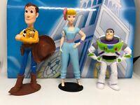 Disney Toy Story 4 Caoutchouc 3D Puzzle Palz gomme Duke caboom rare mini