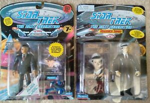 1994 95 Playmates Star Trek: The Next Generation Picard and Data holodeck 1940s