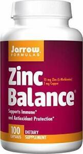 Jarrow Formulas Zinc Balance 15 mg, Supports Immune and Antioxidant...