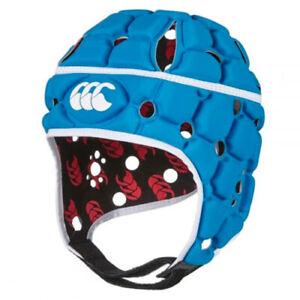 Canterbury CCC Ventilator Headguard Rugby Head Guard Dresden Blue Z013030 A60