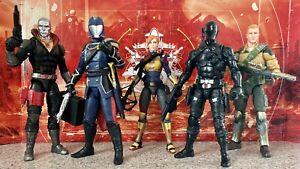 GI Joe Classified lot Cobra Commander Destro Duke Scarlett & Snake Eyes