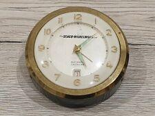 Ancien réveil de bureauThe Seaco-Wilhelmsen Line compagnie maritime  ref 835.2