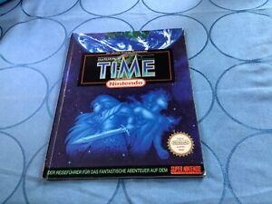 Lösungsbuch Illusion of Time Super Nintendo Snes Der Offizielle Spieleberater