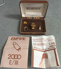 MINT In Box Empire 888 PE Cartridge & Stylus Needle For Turntable Record Player
