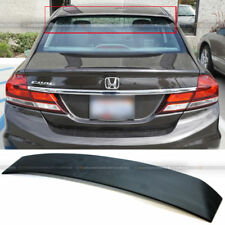 For 06-15 Civic 4DR Sedan Unpainted V2 ABS Rear Window Roof Wing Spoiler Visor