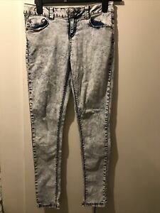 Newlook Girls Skinny Jeans Size 14 Years Old