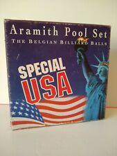 Aramith Pool Set Belgian Billiard Balls Special USA BOX ONLY