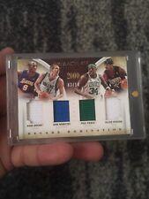 2013-14 Allen Iverson Kobe Bryant Nowitzki Pierce Jersey Number 3/14 AI 1/1