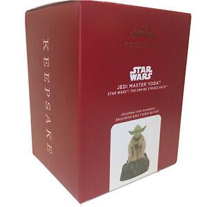 2020 Hallmark Star Wars Jedi Master Yoda Sound And Motion Keepsake Ornament