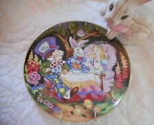"Fitz and Floyd ""A Mad Tea Party"" Alice in Wonderland Collector Plate"