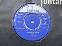 """JOAN BAEZ There But For Fortune/Plaisir D'amour UK 7"""" Single EX Cond"""