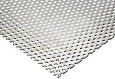 Perforated Aluminum Sheet 125 18 X 48 X 120 316 Holes 14 Spacing
