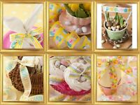 Easter Ribbon by Berisfords UK 21 Prints Various Lengths Lovely Prints