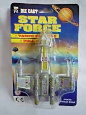 VINTAGE DIE CAST /  STAR FORCE / TAMPO PRINTING / PULL BACK SHIP / X WING