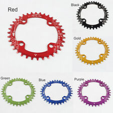 New MTB Bike Bicycle Narrow Wide Round Chainring Chain Ring BCD 104mm 32/34/36T