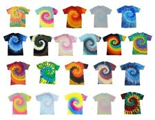 Pick a Swirl Tie Dye T-Shirts, Adult S M L XL 2XL 3XL 4XL 5XL, 100% Cotton