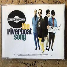 OCEAN COLOUR SCENE - The Riverboat Song 3 Track UK CD Single
