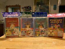 Pokemon Amada Perfect Album Vol 1-4! > New & Sealed Sticker Books < Japanese!