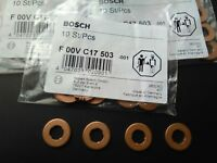 BOSCH diesel fuel injection nozzle holder gasket washer/injector shim F00VC17503